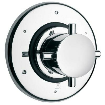 Water Harmonly Volume Thermostatic Valve Finish: Chrome