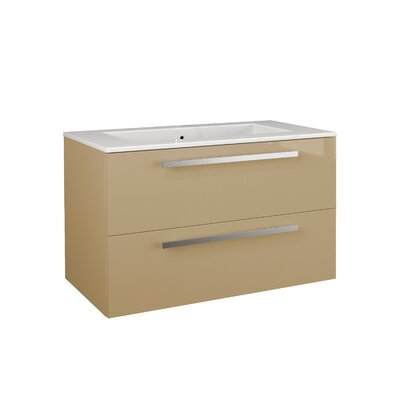 Ambra 33.86 Single Vanity Base Finish: Sand