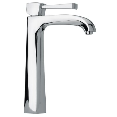 Lady Single Handle Tall Lavatory Faucet Finish: Brushed Nickel