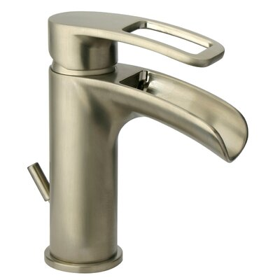 Lavatory Faucet Single Handle Finish: Brushed Nickel