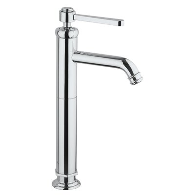 Firenze Vessel Faucet Single Handle Finish: Chrome