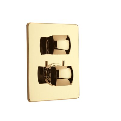 Lady Volume Thermostatic Valve Finish: Satin Gold