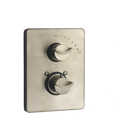 Morgana Volume Thermostatic Valve Finish: Brushed Nickel