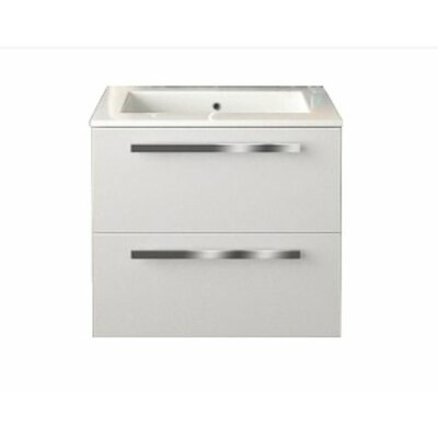 Ambra 23.82 Single Vanity Base Finish: Red
