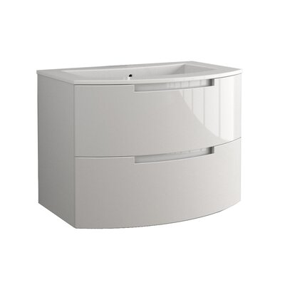Oasi 39 Single Vanity Base Finish: White