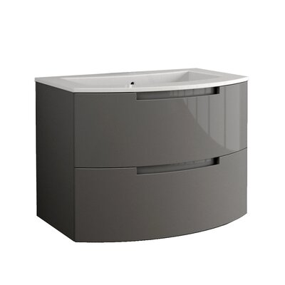 Oasi 39 Single Vanity Base Finish: Slate