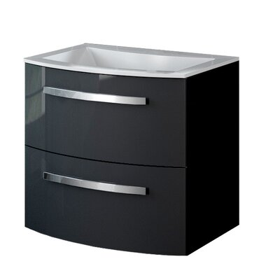 21.7 Single Vanity Base Finish: Black