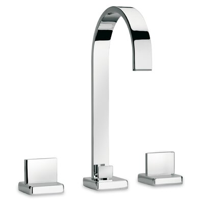 Novello Lavatory Faucet Double Handle Finish: Chrome