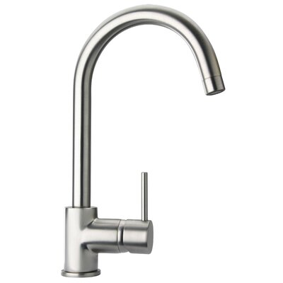Elba Pull Down Touch Single Handle Kitchen Faucet Finish: Brushed Nickel
