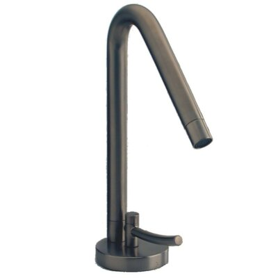 Morellino Single Handle Deck Mount Faucet with Drain Assembly Finish: Brushed Nickel