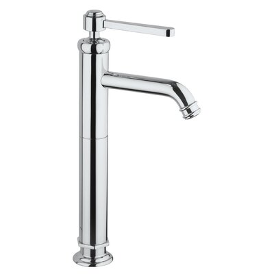 Firenze Vessel Faucet Single Handle Finish: Brushed Nickel
