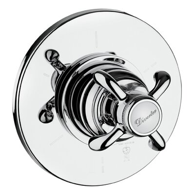 Ornellaia Volume Thermostatic Valve Finish: Chrome