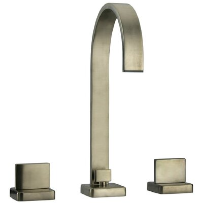 Novello Lavatory Faucet Double Handle Finish: Brushed Nickel