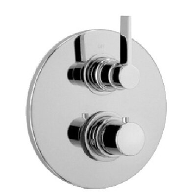 Elix Volume Thermostatic Valve Finish: Brushed Nickel