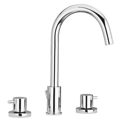 Elba Lavatory Faucet Double Handle Finish: Chrome