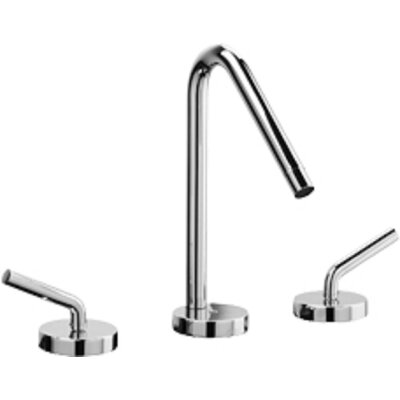 Morellino Widespread Lavatory Faucet Double Handles Deck Mount with Rotating Spout Finish: Chrome