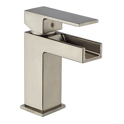 Dax Waterfall Single Handle Bathroom Faucet with Drain Assembly