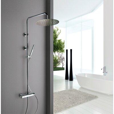Novello Rain Shower Head Shower Panel 86CR689
