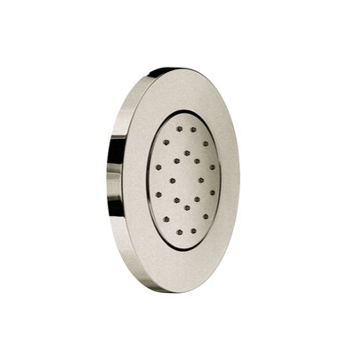 Concealed Single Body Jet Diverter Finish: Brushed Nickel