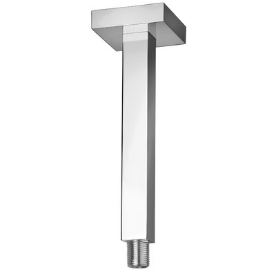 Shower Arm Size: 0.5 H x 8 W x 0.5 D