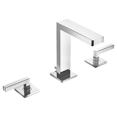 Duro Double Handle Triple Mount Widespread Faucet Finish: Chrome, Flow Rate: 1.5 GPM