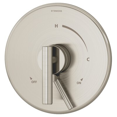 Dia Pressure Balance Shower Valve with Lever Handle Finish: Satin Nickel