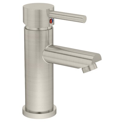 Dia Single Handle Single Mount Faucet Finish: Satin Nickel, Flow Rate: 2.2 GPM