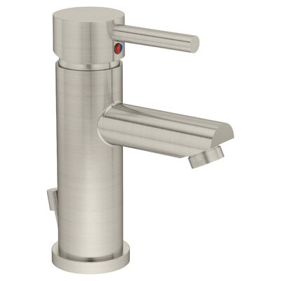 Dia Single Handle single Mount Faucet Finish: Satin Nickel