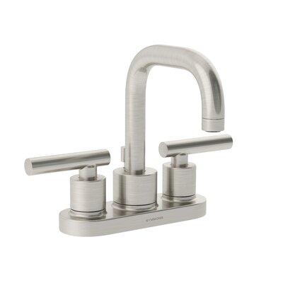 Dia Double Handle Centerset Faucet Finish: Satin Nickel