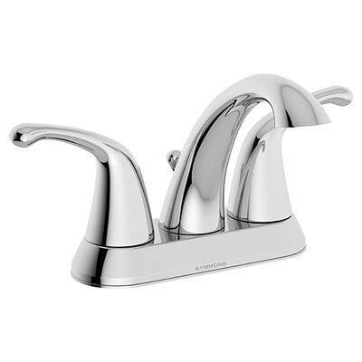 Unity Double Handle Centerset Bathroom Faucet with Drain Flow Rate: 1 GPM, Finish: Chrome