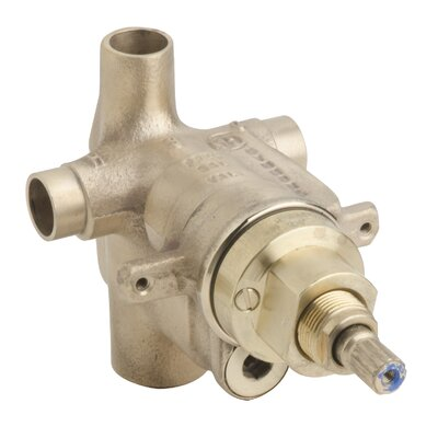Temptrol Pressure Balancing Tub/Shower Valve Body with Integral Diverter