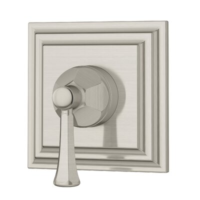 Canterbury 2 Way Diverter with Metal Lever Handle Finish: Satin Nickel