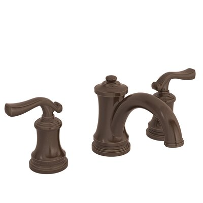 Winslet Double Handle Deck Mounted Widespread Bathroom Faucet Finish: Oil Rubbed Bronze