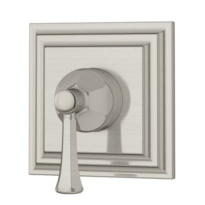 Canterbury 3 Way Diverter with Metal Lever Handle Finish: Satin Nickel