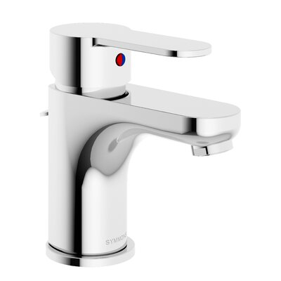 Identity Standard Bathroom Faucet Single Handle with Drain Assembly Finish: Chrome