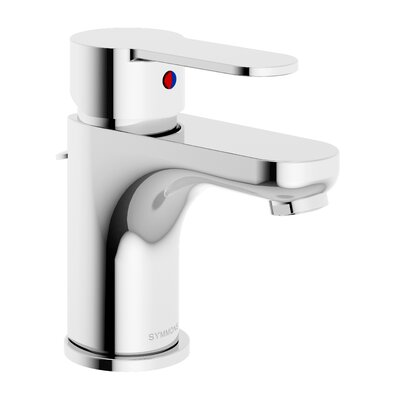 Identity Bathroom Faucet Single Handle with Drain Assembly Finish: Chrome