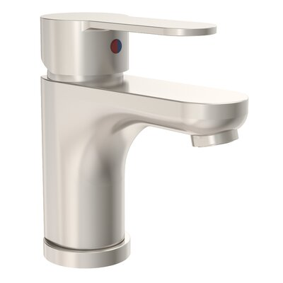 Identity Bathroom Faucet Single Handle Finish: Satin Nickel