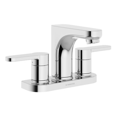 Identity Bathroom Faucet Double Handle Finish: Chrome