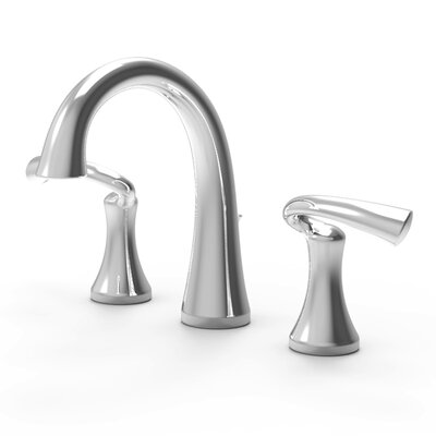 Brenna Bathroom Faucet Double Handle with Drain Assembly