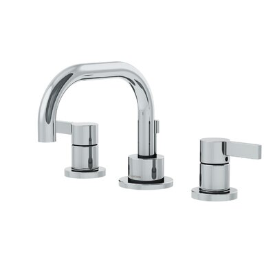 Dia Low Spout Widespread Standard Bathroom Faucet Double Blade Handle