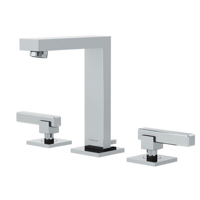 Duro Widespread Standard Bathroom Faucet Double Blade Handle