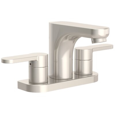 Identity Bathroom Faucet Double Handle Finish: Satin Nickel