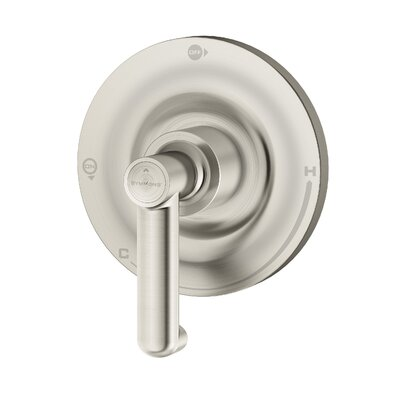 Museo Thermostatic Shower Faucet Trim with Lever Handle Finish: Satin Nickel