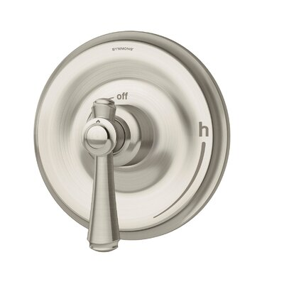 Degas Thermostatic Faucet with Lever Handle Finish: Satin Nickel
