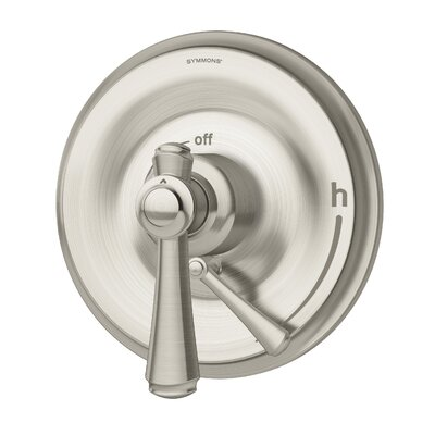 Degas Thermostatic Faucet Trim with Lever Handle Finish: Satin Nickel
