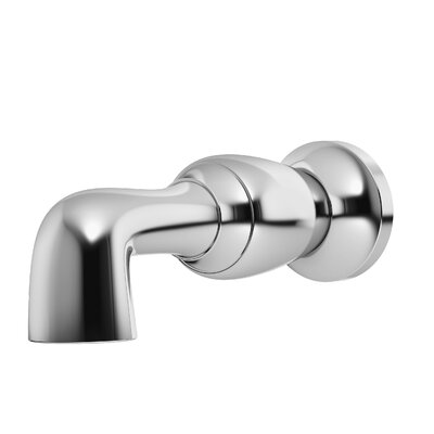 Degas Non-Diverter Tub Spout Finish: Chrome