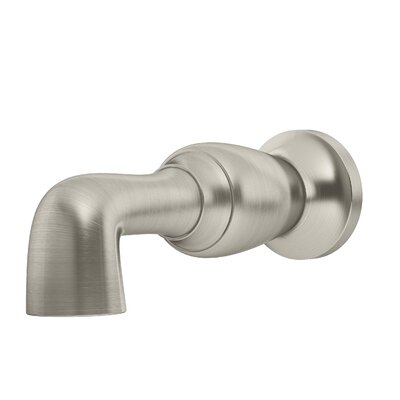 Degas Non-Diverter Tub Spout Finish: Satin Nickel