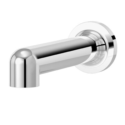 Museo Non-Diverter Tub Spout Finish: Chrome