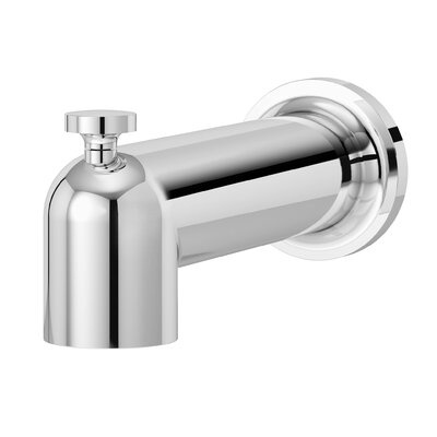 Museo Diverter Tub Spout Finish: Chrome