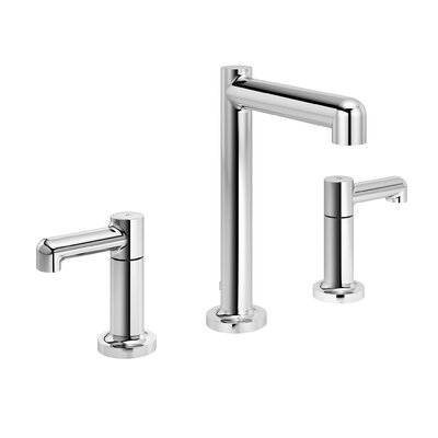 Museo Widespread Double Handle Bathroom Faucet with Drain Assembly Finish: Chrome